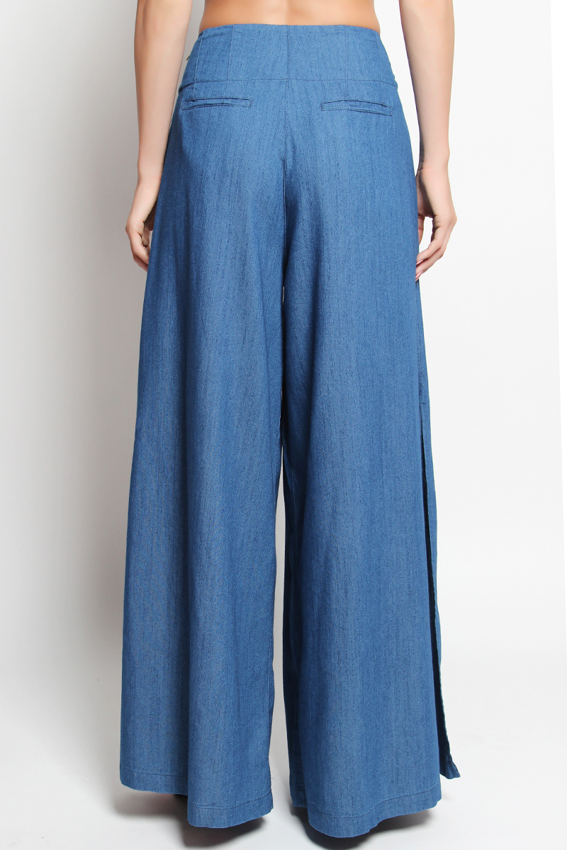 Womens Wide Leg Flared Jeans Long Denim Bell-Bottoms Office Lady Pants $ 28 88 Prime. Tengfurich. Tengfu Women's Loose Relaxed Straight Wide Leg Denim Pants Jeans Trousers. from $ 27 out of 5 stars 3. HALE. Women's Rae High Rise Wide Leg with Released Hem Jean $ 48 50 Prime. out of 5 stars